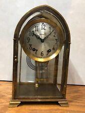 Seth Thomas Dome Top Crystal Gothic No. 0 Regulator Mantel Clock