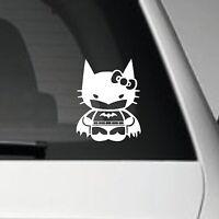 BAT KITTY VINYL CAR ADHESIVE DECAL STICKER JDM JAP VW EURO DUB SCENE