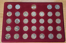 London 2012 50p Coin Set c/w Completers Medallion and 3 x £2 Designs (CW2)