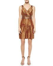 DIANE VON FURSTENBERG DVF Eugenia Short Embellished Dress Size 0 NWT $548