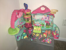 LITTLEST PET SHOP BIGGEST PLAYHOUSE with lots of Extras LOOSE HASBRO LPS
