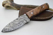 Knife Damassé Couteau Couteau de chasse couteau de poche Couteau damassé Bowie Mega Skinner #21