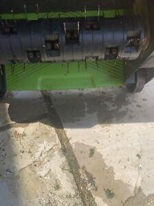 electric lawn scarifier aerator