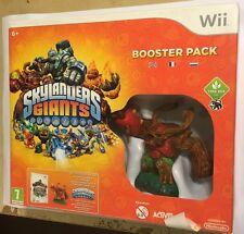 NINTENDO Wii SKYLANDERS GIANTS BASE GAME SOFTWARE & TREE REX FIGURE BOOSTER PACK