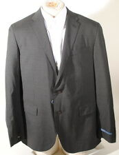 Ralph Lauren Polo Virgin Wool Dark Gray Pinstripe Suit 46L 40W Italy $1650 R3