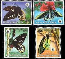 Butterflies Papua New Guinean Stamps (1975-Now)