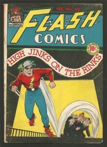 Flash Comcs #62, Feb. 1945