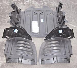 Engine Under Cover + Splash Shield Set + Hardware for 2004-2008 Mazda RX-8