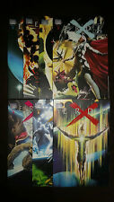 Tierra X (alemán) # 0+1+2+3+4+5+6+7 completo-Alex Ross-Marvel 2000-Top