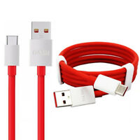 OnePlus Dash Type-C 1M Fast USB Data Charger Lead Cable For 1+ 5 5T 6 6T 3 3T
