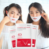 4D V-Shape Thin Face Mask Slimming Lifting Firming Fat Burn Double Chin V-line