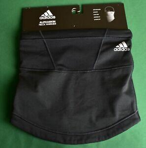 Adidas Alphaskin Fleece Neck Warmer Adjustable Aeroready Reflective Black OS NWT