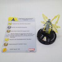 Heroclix Avengers Assemble set Captain Universe #036 Rare figure w/card!