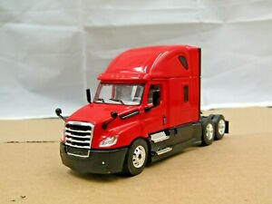 Dcp red/black Freightliner Cascadia sleeper tractor new no box