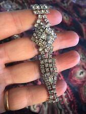 Gorgeous Vintage Cubic Zirconia Bracelet, Excellent