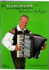 Akkordeon Noten : Slavko AVSENIK Welterfolge (250) OBERKRAINER mittelschwer