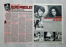 Elvis Presley -  ELVIS ein Superstar wie ihn wird's nie wieder geben !