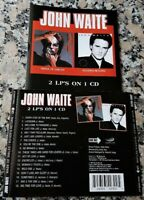 JOHN WAITE Mask Of Smiles 1985 Rover's Return 1987 RARE CD Every Step Of The Way