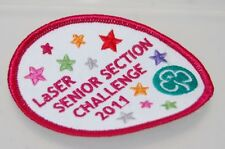 Girl Guiding LaSER Senior Section Challenge 2011 Patch NEW