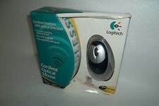 Logitech Cordless Mouse Optical Hi-Def USB 2-Button ScrollWheel 930616-0403 NEW