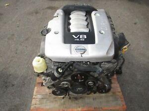 2006-2010 INFINITI FX45 4.5L V8 ENGINE INFINITI M45 V8 ENGINE JDM VK45DE MOTOR