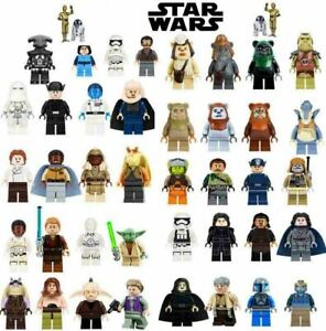 Star Wars Minifigures Darth Vader Obi-Wan Skywalker Mandalorian Mini figure Lego