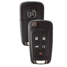 New Flip Key Remote Start Key Fob for Buick Lacrosse Encore Regal Verano Allure