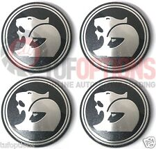 NEW GENUINE HSV Commodore VZ VE E2 E3 VF VFII WM WN Wheel Centre Caps Set (4)