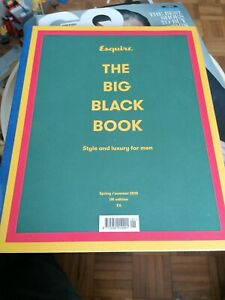 ESQUIRE The Big Black Book Magazine - Spring/Sum 2018 - Style and Luxury for Men