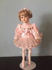 Duck House Porcelain Ballerina Doll