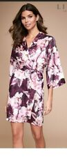 Lipsy Satin Robe Small