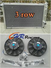 3 ROW ALUMINUM RADIATOR 1982-1992 Pontiac Firebird/Trans Am/Chevy Camaro+2*FANS