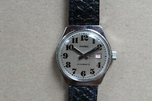 Vintage Karex Armbanduhr Handaufzug Datumsanzeige - läuft Einwandfrei