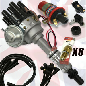 FORD Essex V6 2.5 and 3.0 Electronic Ignition Distributor Pack New Black Cap!