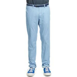 SUPERBE Pantalon Scotch&soda Bleu clair Homme NEUF T 42 OU W 32 L 34