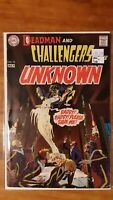Deadman Challengers of Unknown 74 DC High Grade Comic Book RM9-216