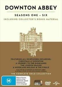 DOWNTON ABBEY SEASON SERIES 1+2+3+4+5+6+all Christmas Special DVD Box Set R4