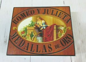 Romeo y Julieta 1875 - Logo Humidor - 20 Cigar Capacity