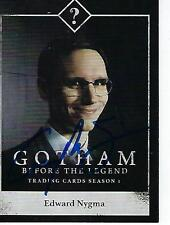"CORY MICHAEL SMITH SIGNED 2014 ""GOTHAM"" #C09 - EDMARD NYGMA"