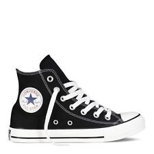 Converse Hi Top All Star Chuck Taylor Black White Mens Womens Shoes Size 4.5-13