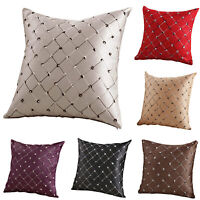 Luxury Diamond Scatter Cushion Cover Throw Pillow Case Square Sofa Home Decor