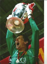 Edwin Van der Sar Manchester United signed authentic football photograph SS494C