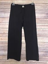 PrAna Breathe Womens Sz S Black Crop Length Stretch Athletic Pants Yoga Fitness