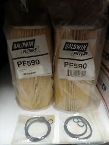 Baldwin Fuel Filter Element PF-590  Replaces Racor 2020SM LOT OF 2 Filters