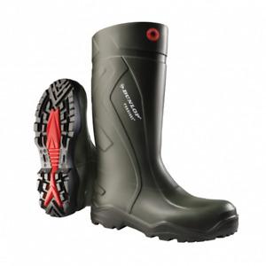 Dunlop C762933 Purofort Full Safety Standard Wellington Boxed Mens Boots UK 9