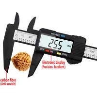 Arrival LCD Digital Electronic Carbon Fiber Vernier Caliper Gauge Measuring Tool