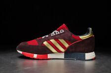 Adidas Originals Boston Super Mens Trainers Red/Gold UK 10 **BRAND NEW**