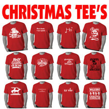 Christmas T Shirts Mens Xmas tee's Funny T shirt offensive Men's Best Sellers