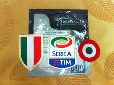 Juventus 2016/17 Serie A + Scudetto +Copa Italia Patch Set 4 Home Away 3rd Shirt