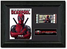 Deadpool Framed 35 mm Film Cell Display Stunning Fan Art Ryan Reynolds Wade